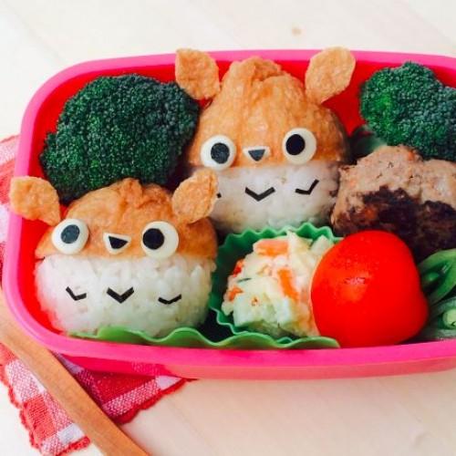 Happy Cook: 龍貓腐皮壽司
