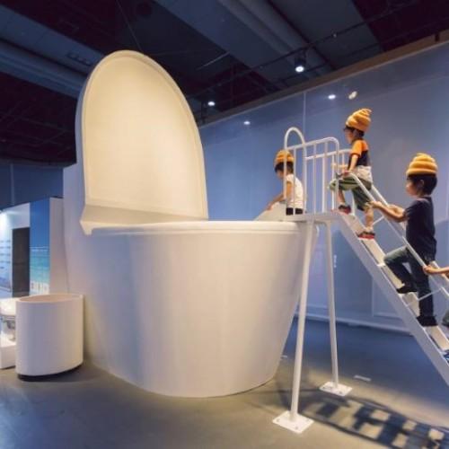 日本Poo Poo展覽‧玩沖落廁坑