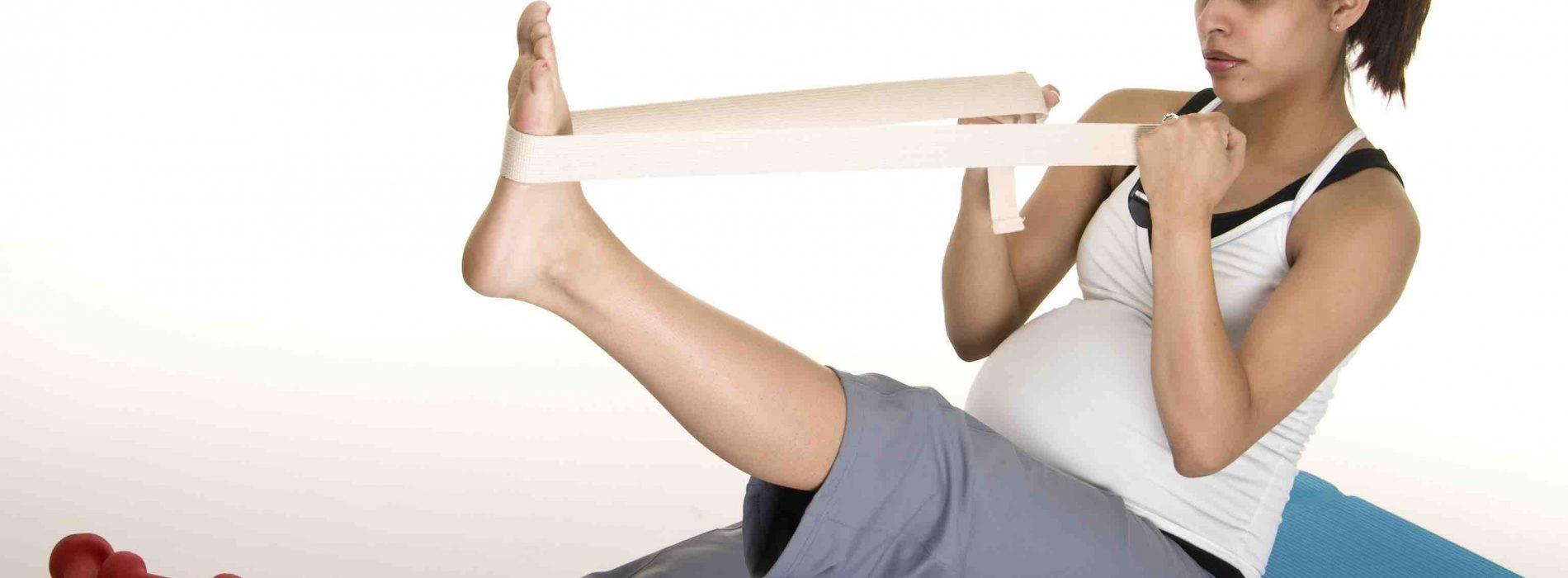 伸展運動‧舒緩孕期不適