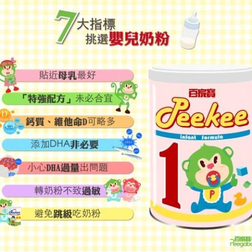 7大指標‧教你挑選嬰兒奶粉