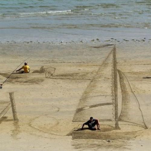 兒童防曬+精彩沙灘3D