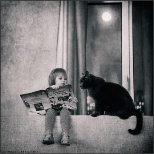 「小孩與小貓」的超友情