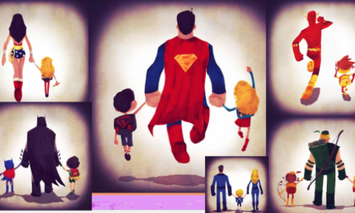 Super Hero‧齊齊湊小朋友上學
