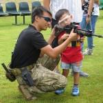 周末好去處 : 天水圍名樂魚莊 - 氣槍射擊