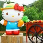 周末好去處 : Hello Kitty 有機薈低碳農莊, 邊到都見到 Hello Kitty