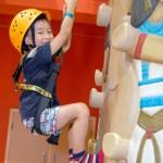 周末好去處 : 愉景灣 Discoveryland, 兒童攀石