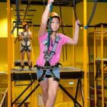 周末好去處 : 愉景灣 Discoveryland, 室內Air Trek