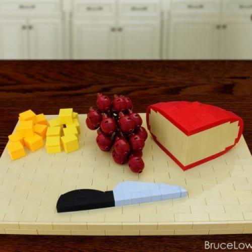 Lego熱狗、冬甩、攪拌機、筷子、刀……