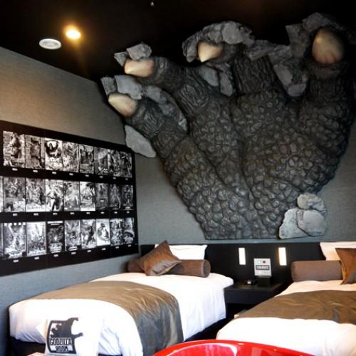 親子旅行‧住新宿Godzilla酒店