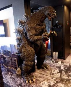 日本新宿Godzilla酒店, 哥斯拉處處的Godzilla Room