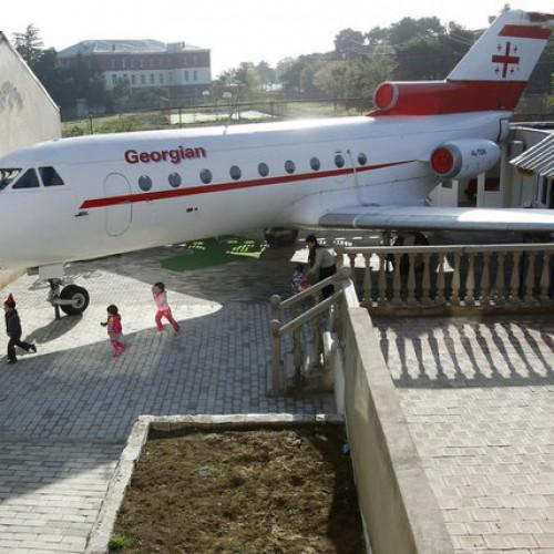 飛機都可以做幼稚園!