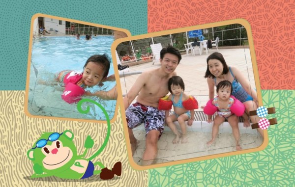 周末好去處 : 北潭涌渡假營游泳池