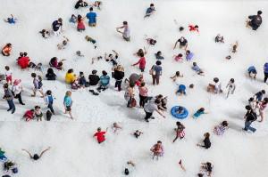 美國「國家博物館」‧變身萬呎「波波池」