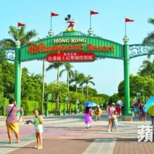 香港迪士尼入場人數續跌