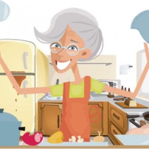 奶奶下廚欠衞生‧新抱嘆心驚