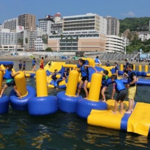 日本親子沙灘‧海上浮動玩具