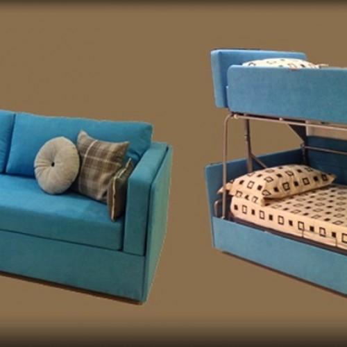 2合1梳化碌架床‧超型收納