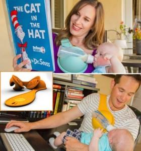 美國「免提式」嬰兒奶樽‧醫生推薦