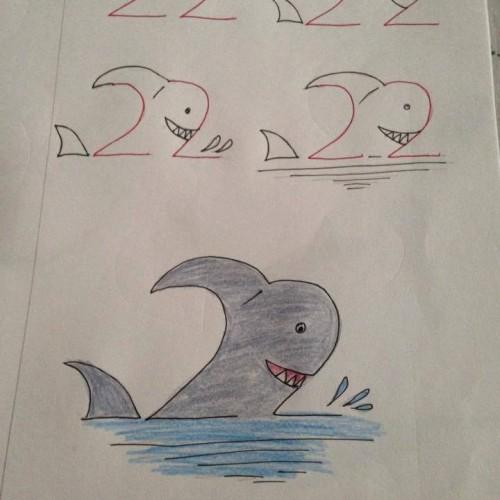 幼兒數字作畫,擴思考空間