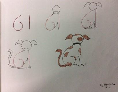 儿童画 简笔画 手绘 线稿 409_320