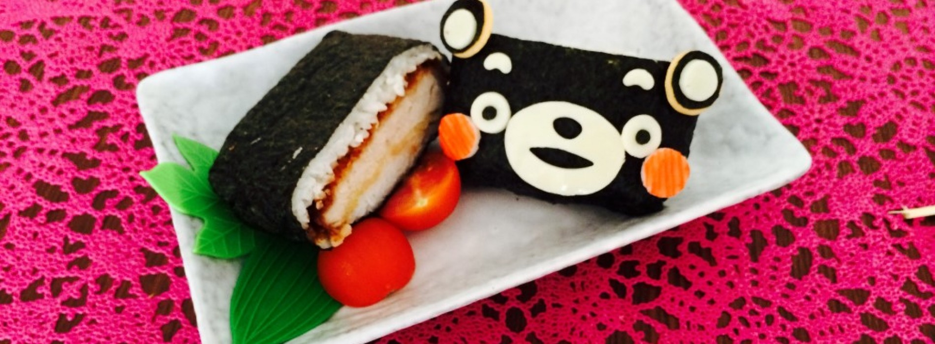 Happy Cook: Kumamon 三文治飯團