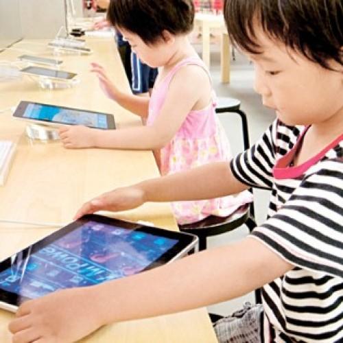 3至4歲求診個案增‧因早用電子產品