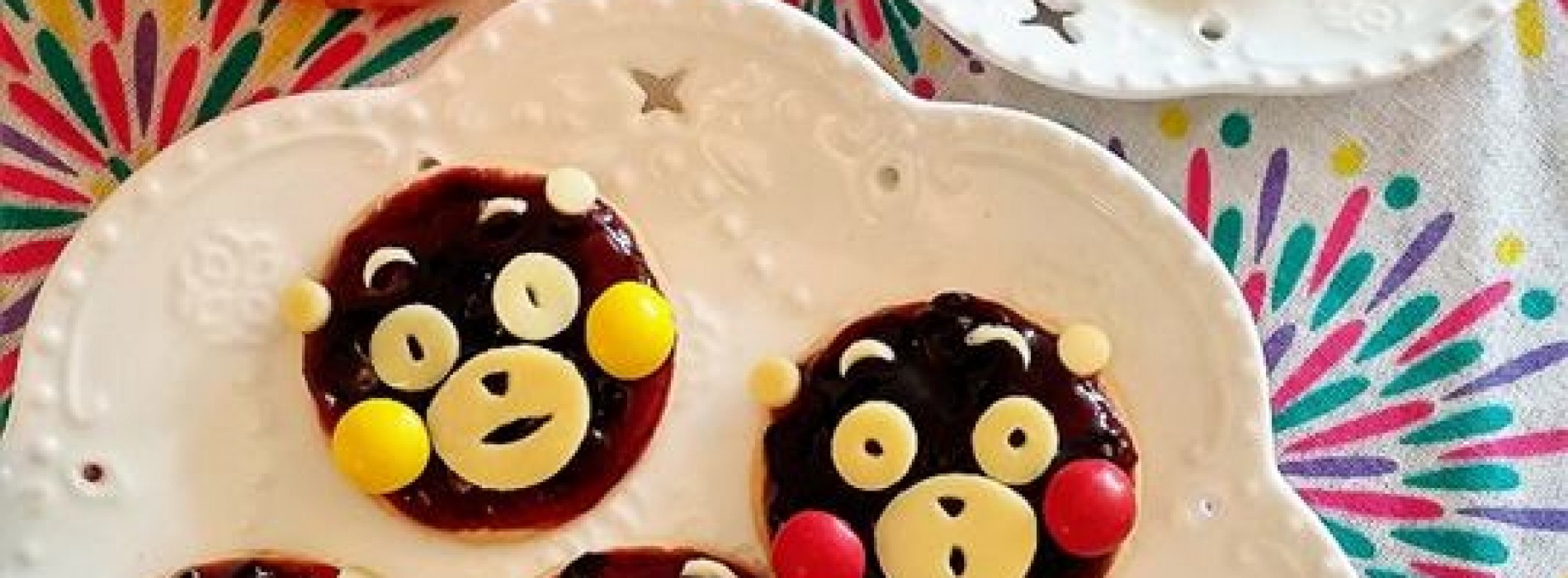 happy cook:diy熊本熊蓝莓饼 | peegaboo 百家宝亲子网