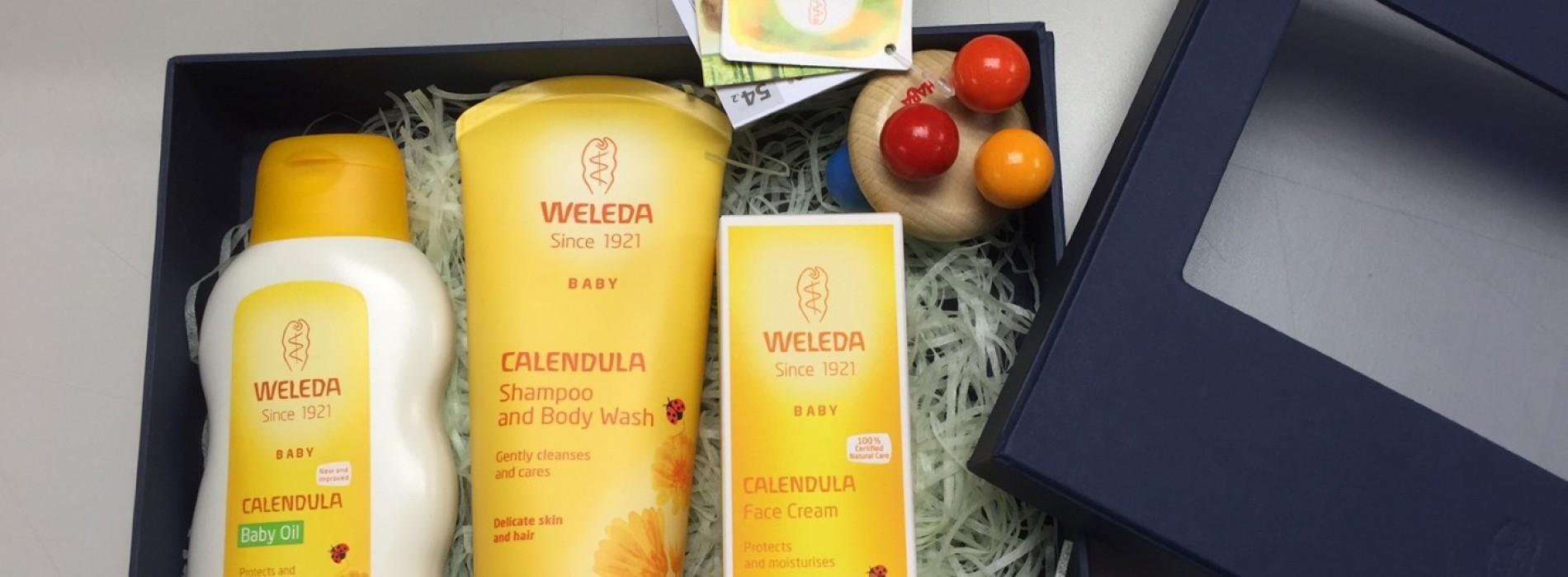 送總值$5,264「WELEDA金盞花嬰幼兒護理」產品