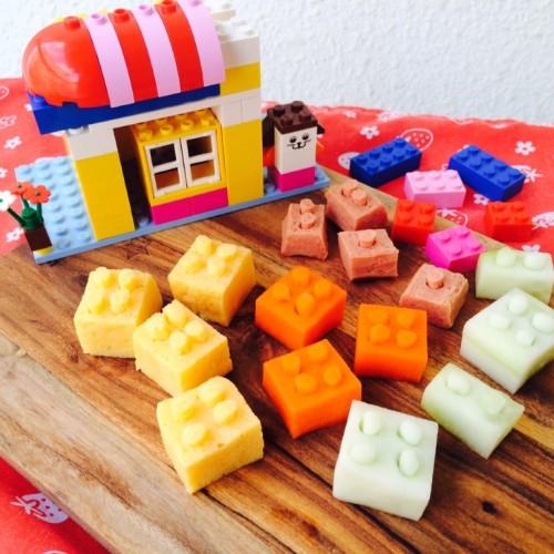 Happy Cook: 可以吃進肚子的LEGO