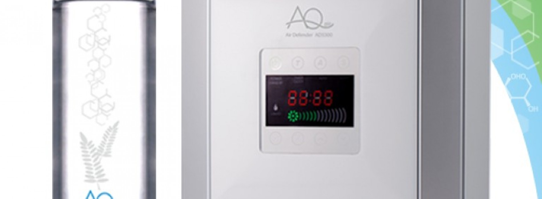 送總值$6,540「AQ空氣殺菌淨化機+補充液」