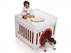 三合一BB床 ·大玩「捐山窿」遊戲