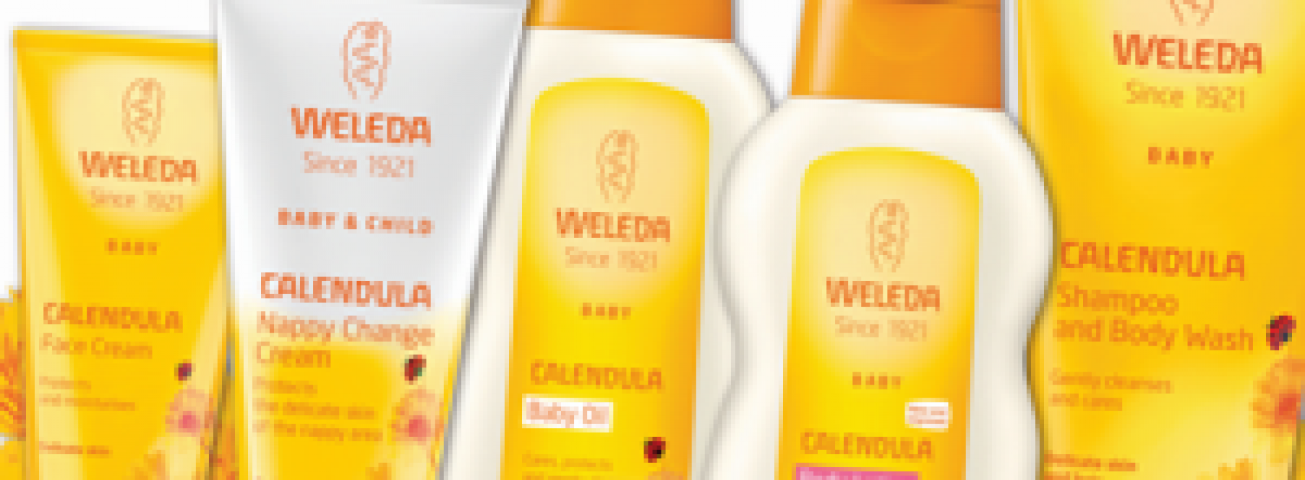 送總值$5,450「WELEDA『唯美達』嬰幼兒護理」產品