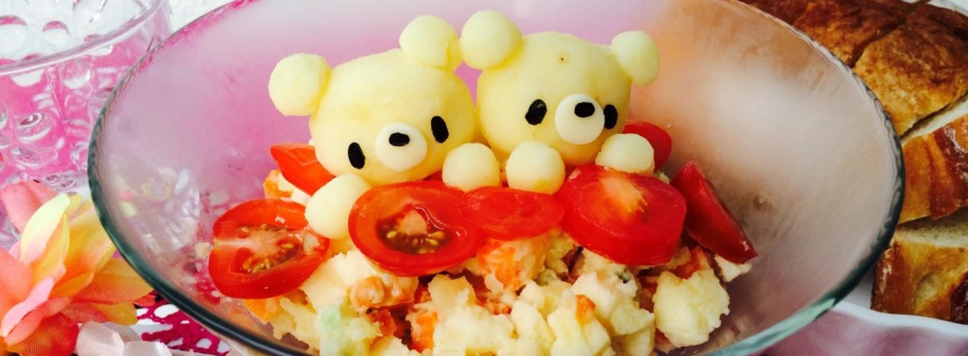 Happy Cook: 熊出沒!日式薯仔沙律