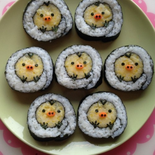 Happy Cook: 豬鼻雞壽司