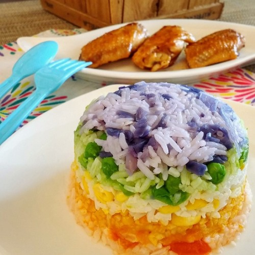 Happy Cook: 幸福彩虹飯