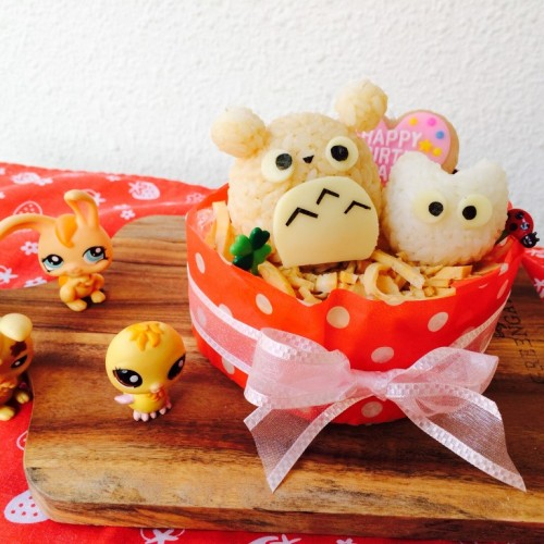 Happy Cook: 龍貓壽司蛋糕