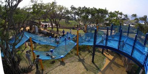 「繩網」遊樂場 ‧ 遊日親子必去