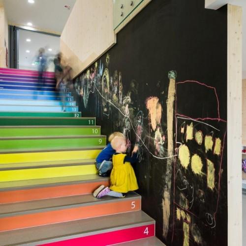 歐洲「放任學習」幼兒園.65個活動角落