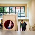 歐洲幼兒園, 水管造型滑梯