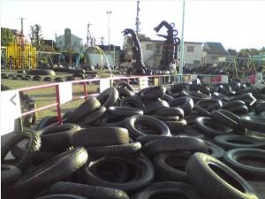 東京都全天候「輪胎」遊樂場 好多輪胎等住你黎玩