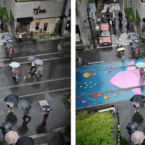 """韓國旅行‧要行變色 """"落雨""""路"""