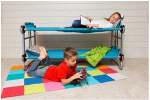 3合1「可折疊便攜二人床」.小朋友去CAMP必備