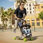 歐盟超型滑板‧BB車「手把」變「煞車制」