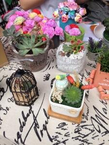 親子活動 : 愉景灣露天市集, 充滿歐陸風情的裝飾品