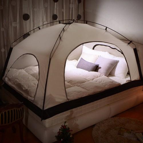 床上「帳篷」· 親子「露營」暖笠笠