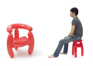 韓國「氣球傢俬」‧可承載2個小朋友重量!