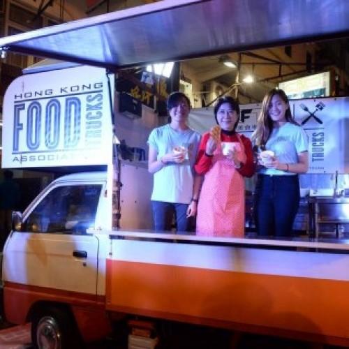 廟街美食車之夜‧蔣麗芸樂做「小食妹」