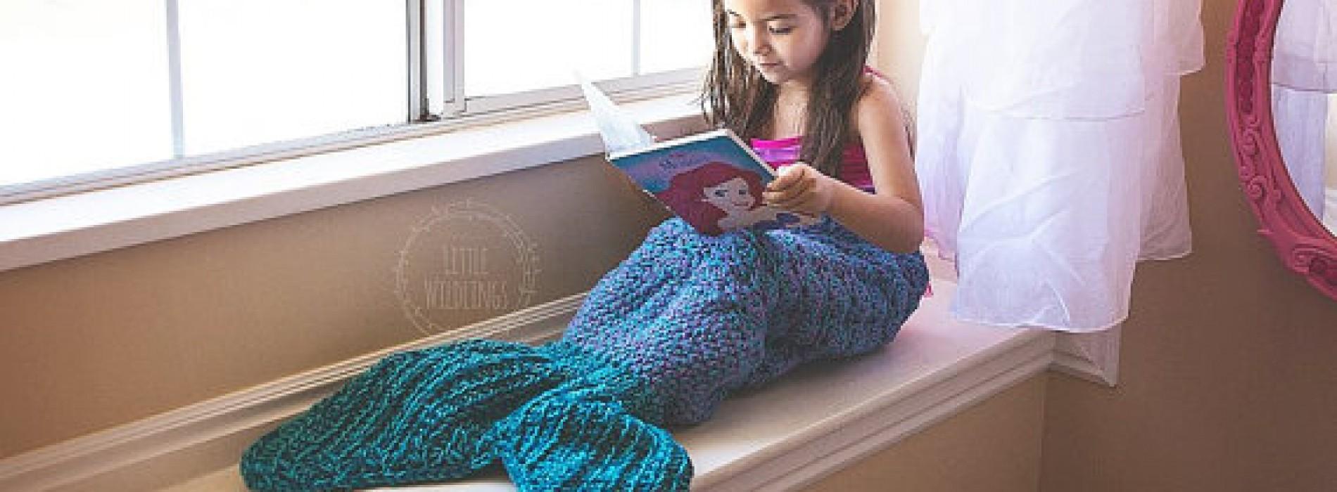 美人魚「尾巴毯」‧聖誕溫暖禮物