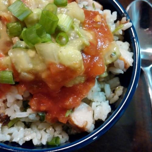 Happy Cook:墨西哥風味—芫茜雞粒飯