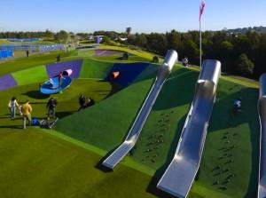 澳洲超級遊樂場,親子通山跑, 超長滑梯